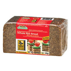 MESTEMACHER WHOLE RYE BREAD 17.6 OZ