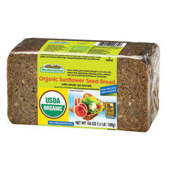 MESTEMACHER ORGANIC SUNFLOWER SEED BREAD 17.6 OZ