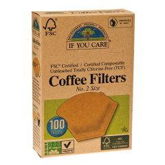 IF YOU CARE # 2 COFFEE FILTERS 100 CT BOX