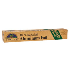 IF YOU CARE RECYCLED ALUMINUM FOIL 50 SQUARE FEET