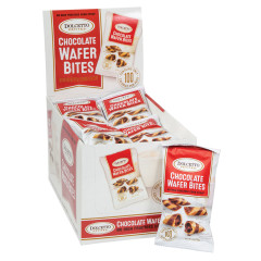 DOLCETTO CHOCOLATE WAFER BITES 0.7 OZ