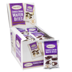 DOLCETTO COOKIES AND CREAM WAFER BITES 0.7OZ