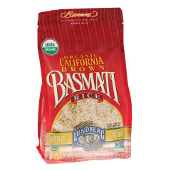LUNDBERG ORGANIC BROWN BASMATI RICE 32 OZ BAG