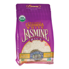 LUNDBERG ORGANIC JASMINE WHITE RICE 32 OZ BAG