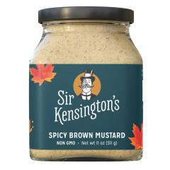 SIR KENSINGTON'S SPICY BROWN MUSTARD 11 OZ JAR