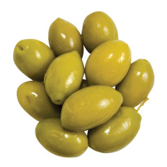 OLIVES CERIGNOLA NATURAL GREEN GG