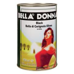 BELLA DONNA BLACK CERIGNOLA OLIVES