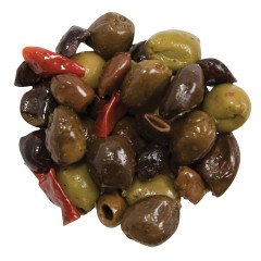 COUNTRY PITTED OLIVE MIX
