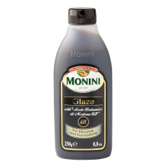MONINI BALSAMIC GLAZE OF MODENA 8.8 OZ BOTTLE