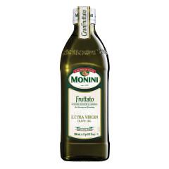 MONINI FRUTTATO EXTRA VIRGIN OLIVE OIL 16.9 OZ (1/2 LITER) BOTTLE