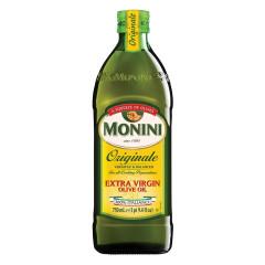 MONINI EXTRA VIRGIN OLIVE OIL 750 ML BOTTLE