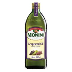 MONINI GRAPESEED OIL 33.8 OZ BOTTLE