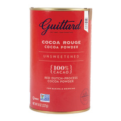GUITTARD UNSWEETENED COCOA ROUGE TIN