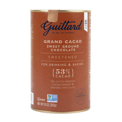GUITTARD SWEETENED GRAND CACAO 10 OZ TIN