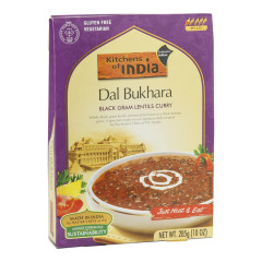 KITCHENS OF INDIA DAL BUKARA BLACK GRAM LENTILS CURRY 10 OZ