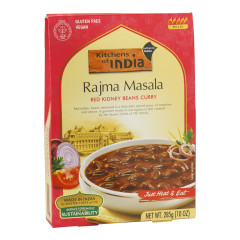 KITCHENS OF INDIA RAJMA MASALA RED KIDNEY BEANS CURRY 10 OZ