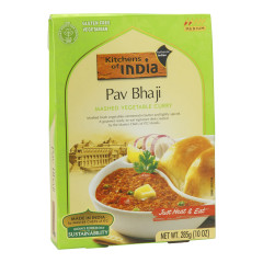 KITCHENS OF INDIA PAV BHAJI MASHED VEGETABLE CURRY 10 OZ