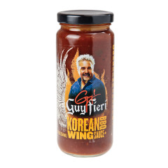 GUY FIERI KOREAN BBQ WING SAUCE 12 OZ JAR