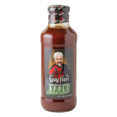 GUY FIERI APPLE BBQ SAUCE 19 OZ BOTTLE