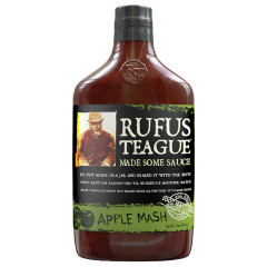 RUFUS TEAGUE APPLE MASH BBQ SAUCE 16 OZ BOTTLE