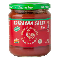 HUY FONG HOT SRIRACHA SALSA 15.5 OZ JAR