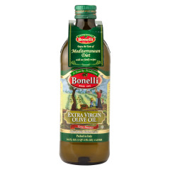 BONELLI EXTRA VIRGIN OLIVE OIL 1 LITER 33.8 OZ BOTTLE