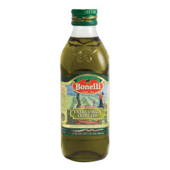 BONELLI EXTRA VIRGIN OLIVE OIL 1/2 LITER 16.9 OZ BOTTLE