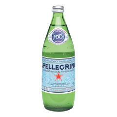 SAN PELLEGRINO SPARKLING WATER 25 OZ BOTTLE