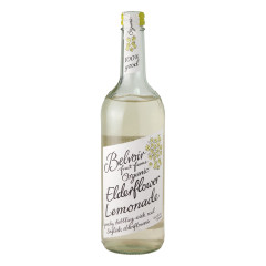 BELVOIR ORGANIC ELDERFLOWER LEMONADE 25.4 OZ BOTTLE