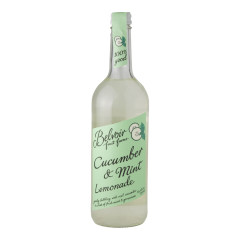 BELVOIR CUCUMBER AND MINT LEMONADE 25.4 OZ BOTTLE