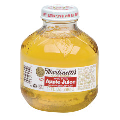 MARTINELLI'S APPLE JUICE 10 OZ BOTTLE