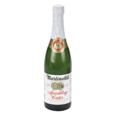 MARTINELLI'S SPARKLING APPLE CIDER 25.4 OZ BOTTLE