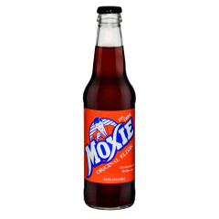 MOXIE SODA ORIGINAL ELIXIR 12 OZ BOTTLE