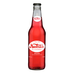 NESBITT'S PEACH SODA 12 OZ BOTTLE