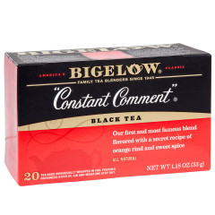 BIGELOW CONSTANT COMMENT BLACK TEA 20 CT BOX