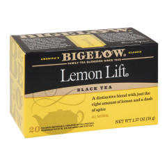 BIGELOW LEMON LIFT BLACK TEA 20 CT BOX