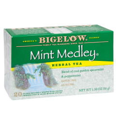 BIGELOW MINT MEDLEY HERBAL TEA 20 CT BOX