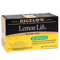 BIGELOW DECAF LEMON LIFT BLACK TEA 20 CT BOX
