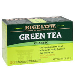 BIGELOW GREEN TEA 20 CT BOX