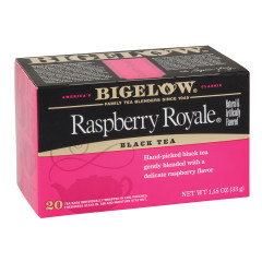 BIGELOW RASPBERRY ROYALE BLACK TEA 20 CT BOX