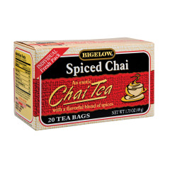 BIGELOW SPICED CHAI TEA 20 CT BOX