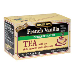 BIGELOW DECAF FRENCH VANILLA TEA 20 CT BOX