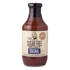 G HUGHES SUGAR FREE ORIGINAL BBQ SAUCE 18 OZ BOTTLE