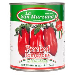 LA SAN MARZANO PEELED TOMATOES 28 OZ CAN