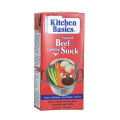 KITCHEN BASICS BEEF STOCK 32 OZ