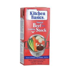 KITCHEN BASICS BEEF STOCK 32 OZ