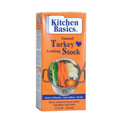 KITCHEN BASICS TURKEY STOCK 32 OZ