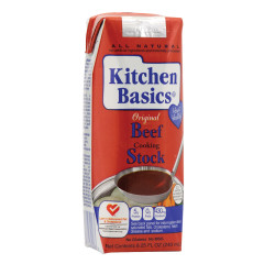 KITCHEN BASICS ORIGINAL BEEF STOCK 8.24 OZ