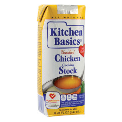 KITCHEN BASICS UNSALTED CHICKEN STOCK 8.25 OZ