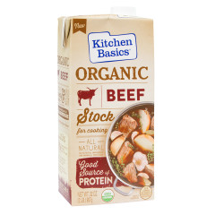 KITCHEN BASICS ORGANIC BEEF STOCK 32 OZ